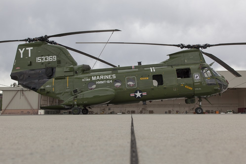 © Jason Grant • Boeing Vertol CH-46E Sea Knight 153369 • Marine Corps Base Camp Pendleton