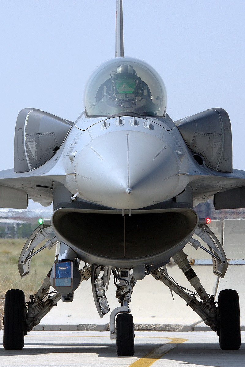 © Mark Kwiatkowski • TuAF F-16C Head on • Anatolian Eagle 2014