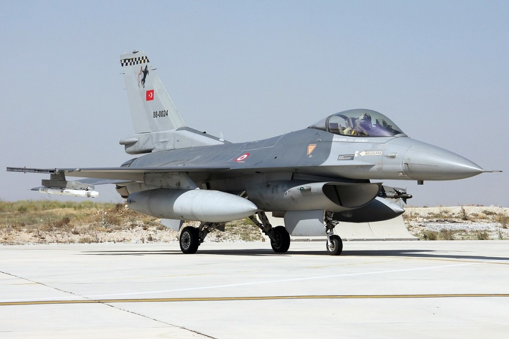 © Mark Kwiatkowski • TuAF F-16C 88-0024 • Anatolian Eagle 2014
