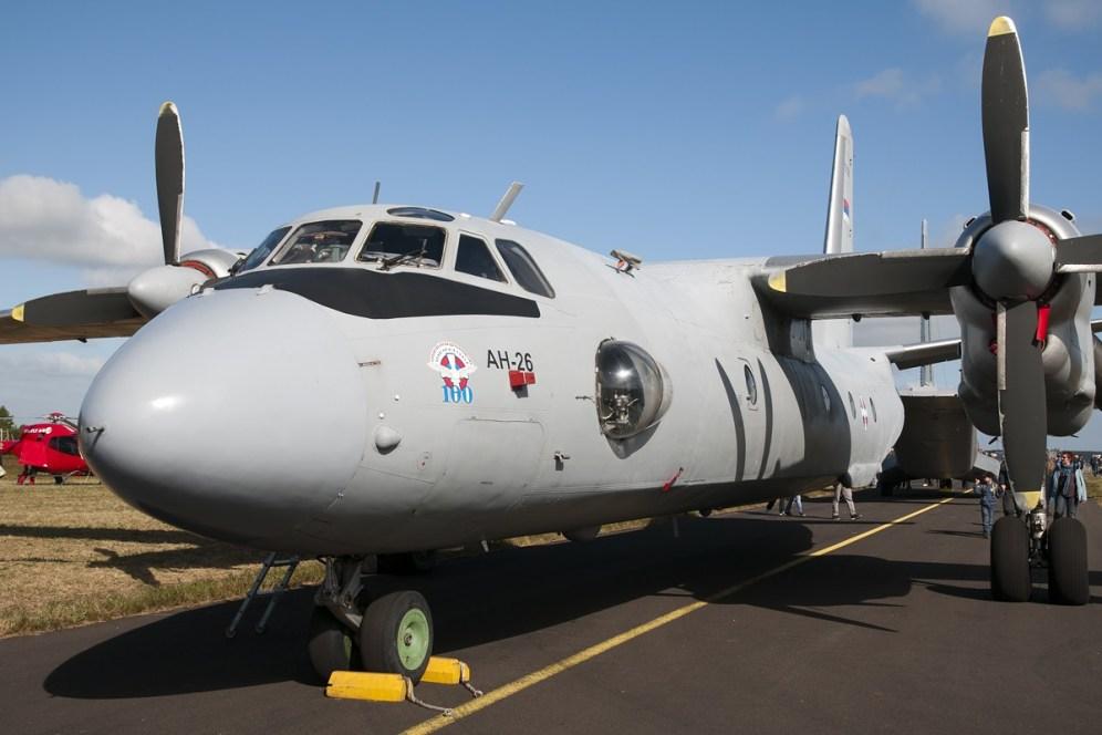 © Duncan Monk • Serbian Air Force AN-26 • RDAF Karup Airshow 2014