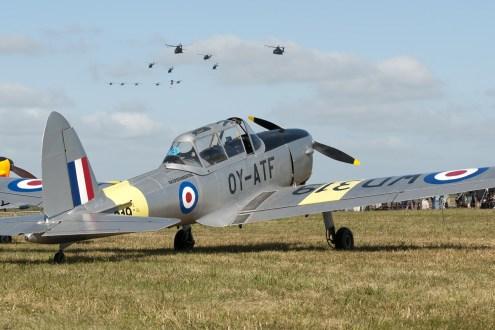 © Duncan Monk • de Havilland Chipmunk OY-ATF • RDAF Karup Airshow 2014