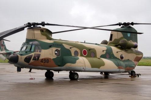 © Michael Lovering • Kawasaki CH-47 • JASDF Miho Air Festival 2014