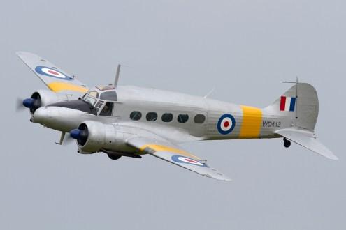 © Mic Lovering • Avro Anson • RAF Cosford Air Show 2015