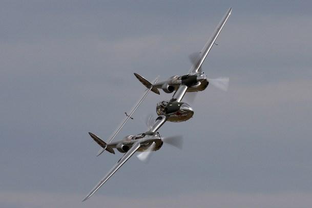 © Ben Montgomery • P-38 Lightning • Duxford Flying Legends 2011