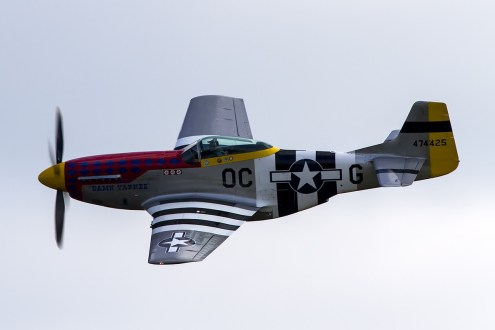 © Adam Duffield • North American P-51 Mustang 474425/PH-PSI • Luchtmachtdagen 2014