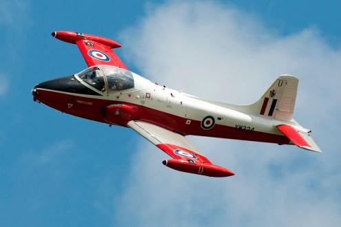 © Duncan Monk • Jet Provost XW324 • Throckmorton Air Show