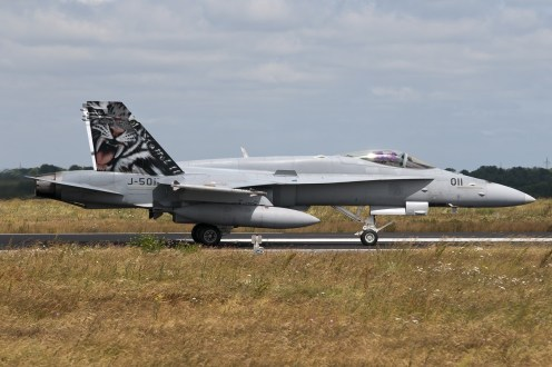 © Duncan Monk • Swiss Air Force F/A-18C J-5011 • NATO Tiger Meet 2014