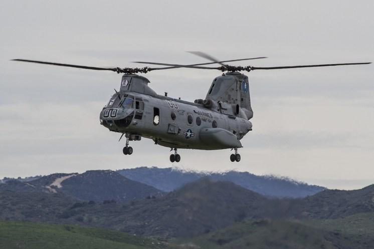 © Jason Grant • Boeing Vertol CH-46E Sea Knight 155306 • Marine Corps Base Camp Pendleton
