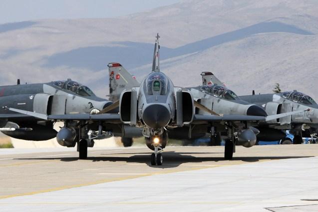 © Mark Kwiatkowski • TuAF F-4 Head on • Anatolian Eagle 2014