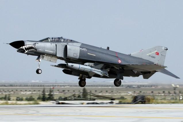 © Mark Kwiatkowski • TuAF F-4 77-0283 • Anatolian Eagle 2014
