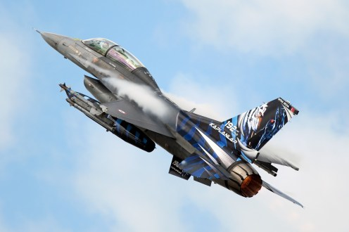© Duncan Monk • Turkish Air Force F-16D • NATO Tiger Meet 2014