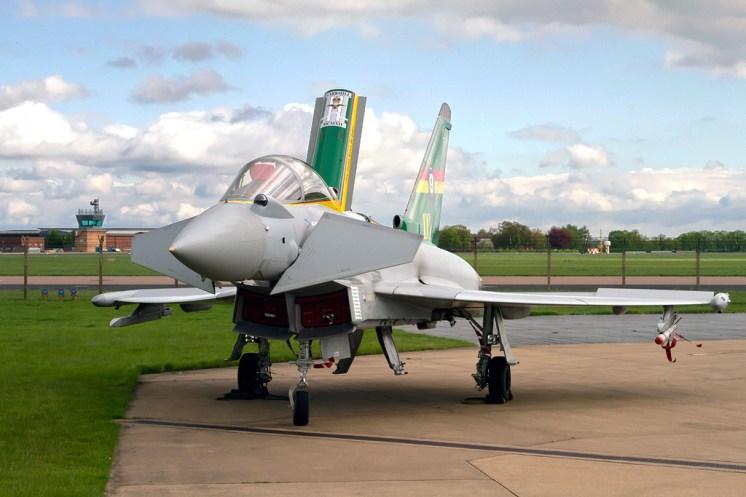 © Craig Sluman - Royal Air Force • Eurofighter Typhoon FGR.4 • 3 Squadron 100th Anniversary