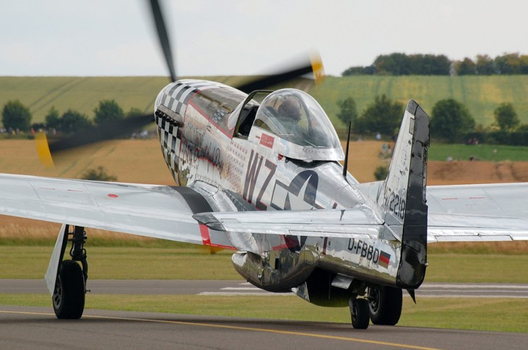 © Steve Smith • P-51 Mustang 'Big Beautiful Doll' • Duxford Flying Legends 2011