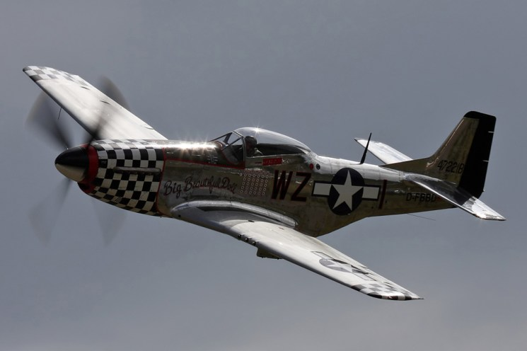 © Ben Montgomery • P-51 Mustang 'Big Beautiful Doll' • Duxford Flying Legends 2011