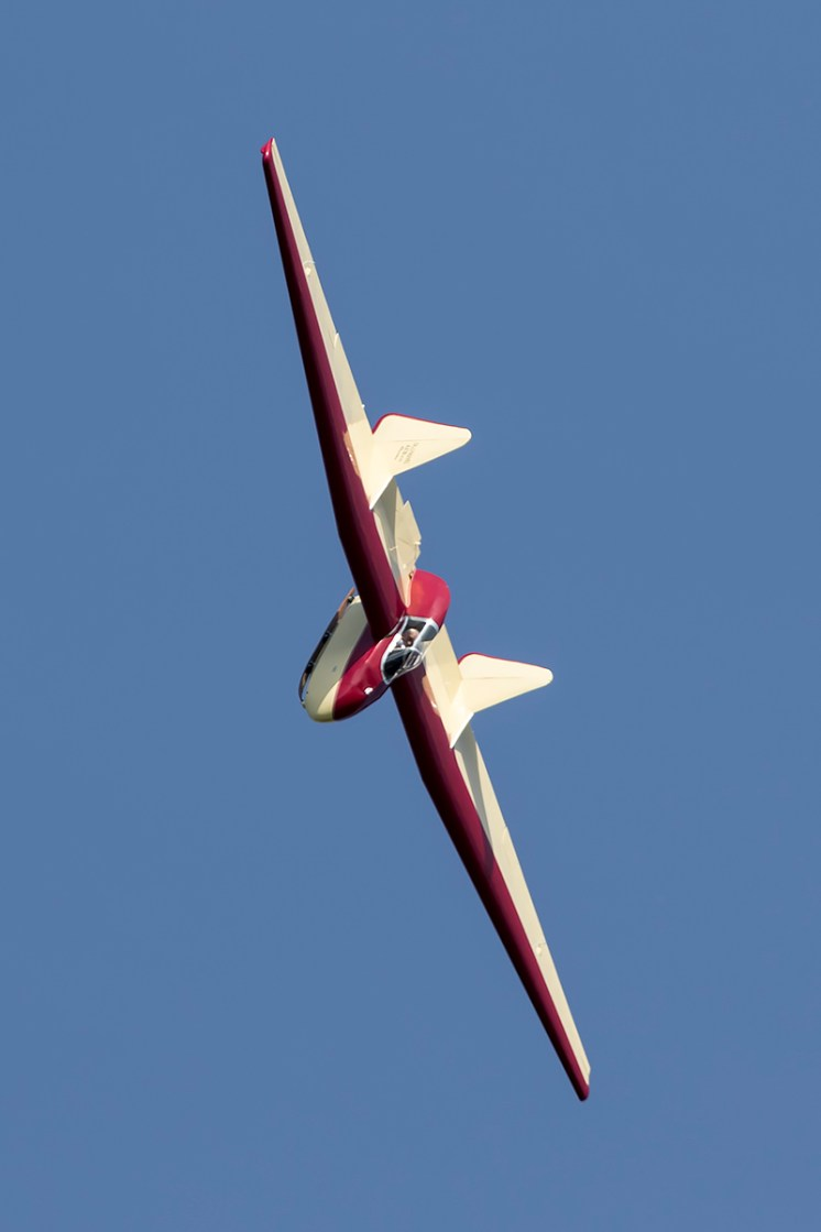 © Adam Duffield • Fauvel AV36 Glider • Shuttleworth LAA Party in the Park