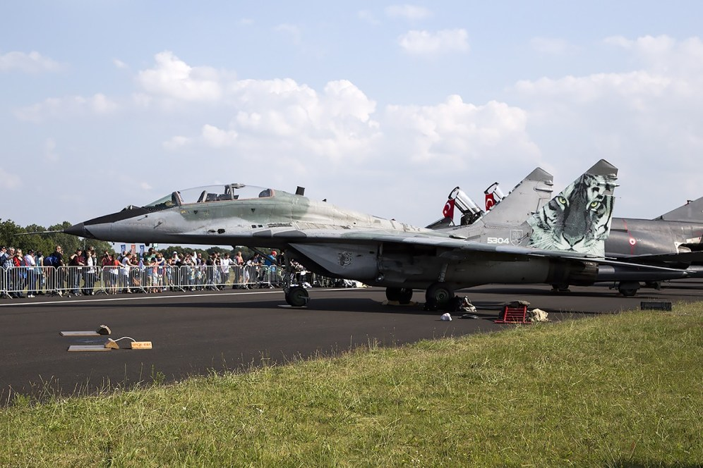 © Adam Duffield • Slovak Air Force MiG-29UBS 5304 • Luchtmachtdagen 2014