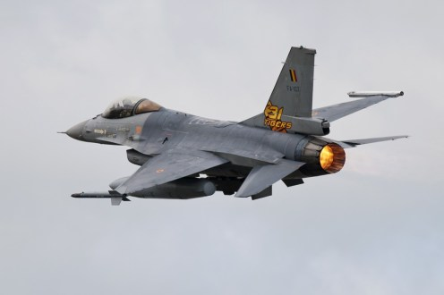 © Duncan Monk • Belgian Air Force F-16AM FA-107 • NATO Tiger Meet 2014
