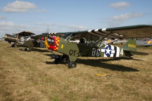 © Duncan Monk • Piper Cub 215272/OY-ECV • RDAF Karup Airshow 2014