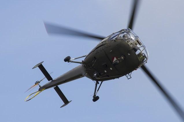 © Adam Duffield • Aérospatiale Alouette III 3E-LC • Luchtmachtdagen 2014