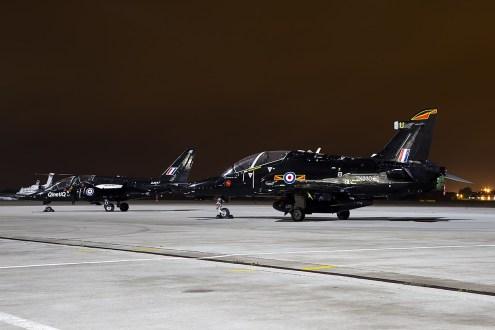 © Adam Duffield • Dassault Dornier Alpha Jet ZJ647 & BAE Hawk T2 ZK030 • Northolt Nightshoot XVII