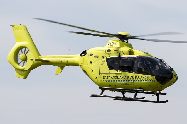 © Adam Duffield • East Anglian Air Ambulance EC-135 G-CGZD • Old Buckenham Airshow 2014