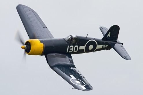 © Ben Montgomery • Vought FG-1D Corsair KD345 G-FGID • Duxford VE Day 70th Anniversary Airshow