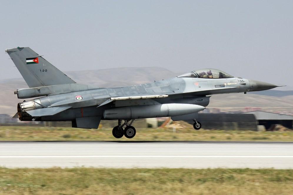 © Mark Kwiatkowski • Royal Jordanian Air Force F-16 100 • Anatolian Eagle 2014