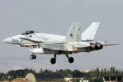 © Mark Kwiatkowski • Spanish Air Force EF-18A 12-23 • Anatolian Eagle 2014