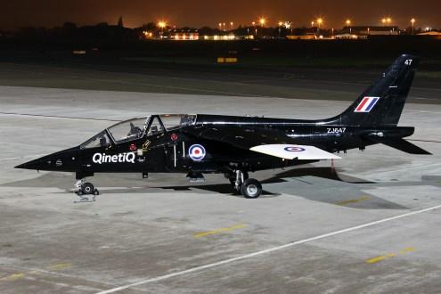 © Mark Kwiatkowski • Dassault Dornier Alpha Jet ZJ647 • Northolt Nightshoot XVII