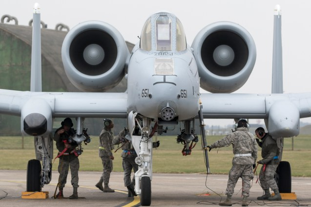 © David Mackey • 354th EFS Fairchild Republic A-10 Thunderbolt II • A-10 Lakenheath TDY