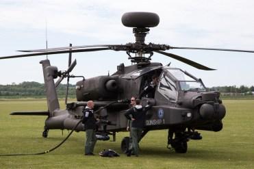 © Adam Duffield • AAC WAH-64 Apache • Duxford VE Day 70th Anniversary Airshow