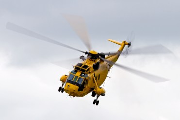 © Ben Montgomery • Westland Sea King HAR3 SAR Demo • Duxford VE Day 70th Anniversary Airshow