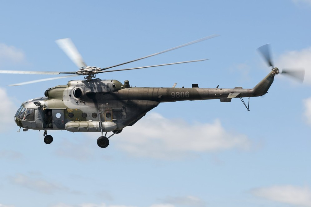 © Duncan Monk • Czech Air Force Mi-8 • NATO Tiger Meet 2014