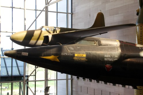 © Michael Lovering • North American X-15 and Bell XP-59A Airacomet • Smithsonian Air & Space - Washington DC