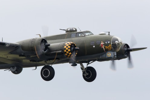 © Adam Duffield • Boeing B-17G 'Sally B' • Duxford VE Day 70th Anniversary Airshow