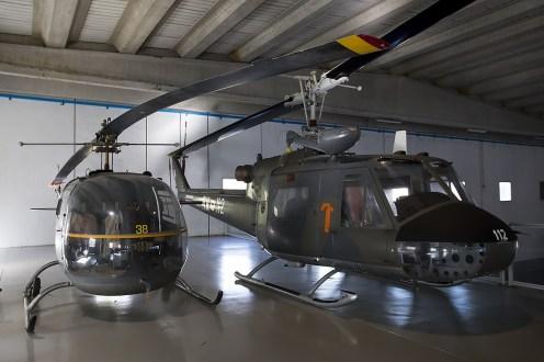 © Adam Duffield • Agusta AB-47J MM80187 & AB-204B MM80357 • Italian Air Force Museum