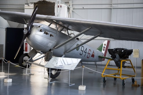 © Adam Duffield • Ansaldo AC.2 MM1208 • Italian Air Force Museum