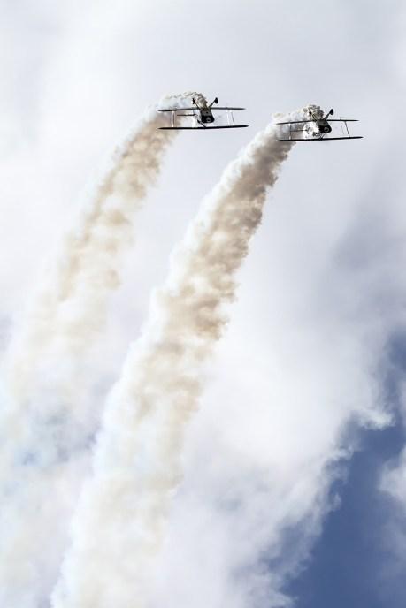 © Adam Duffield • Wildcat Aerobatics Pitts S-2s • Old Buckenham Airshow 2014