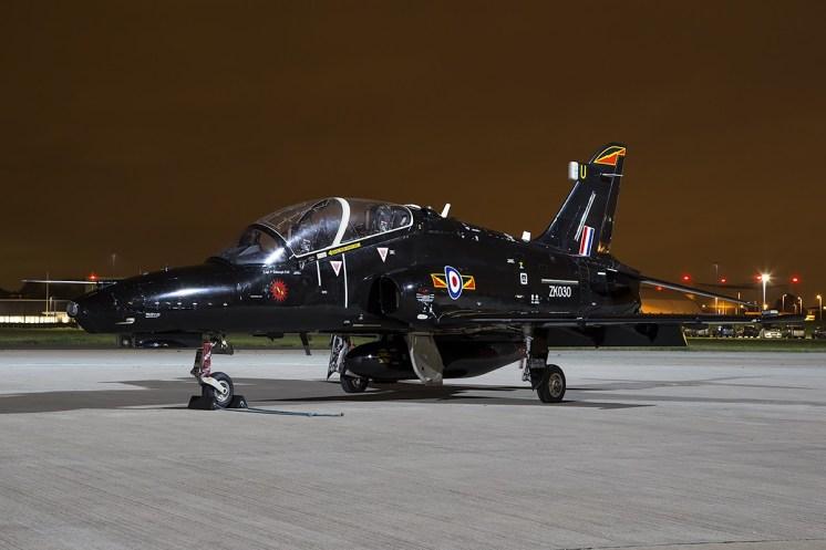 © Adam Duffield • BAE Hawk T2 ZK030 • Northolt Nightshoot XVII