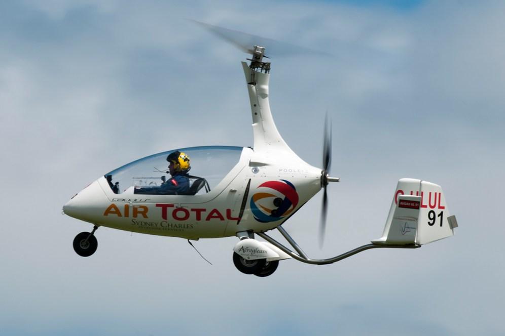 © Duncan Monk • Autogyro G-ULUL • Throckmorton Air Show