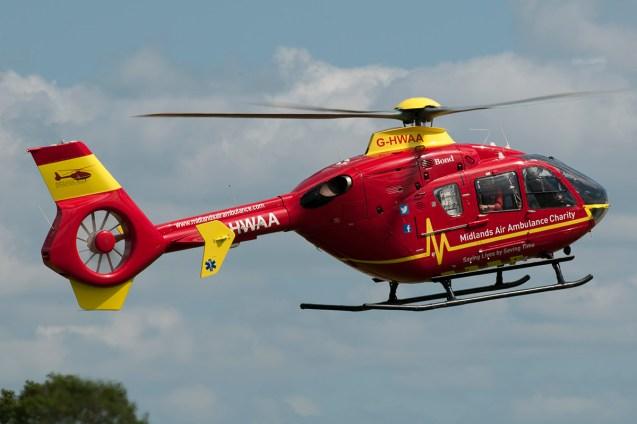 © Duncan Monk • Air Ambulance EC-135 G-HWAA • Throckmorton Air Show