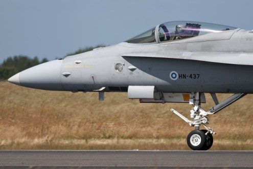 © Duncan Monk • Finnish Air Force F/A-18C • RDAF Karup Airshow 2014