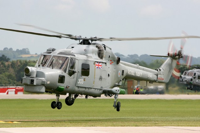 © Mark Graham - Royal Navy • Westland Lynx • RAF Yeovilton, UK