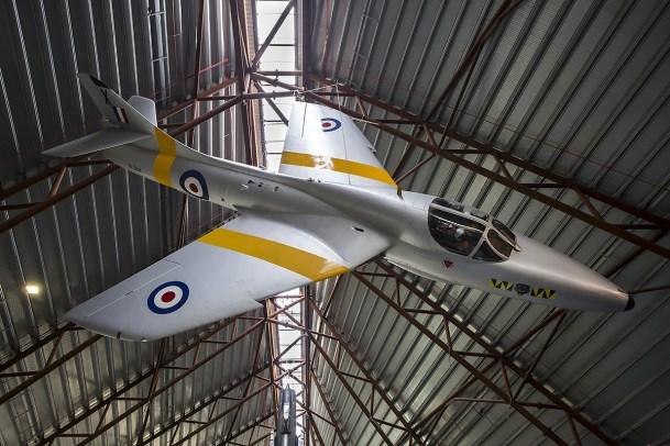 © Adam Duffield • Hawker Hunter T7A XL568 • RAFM Cosford