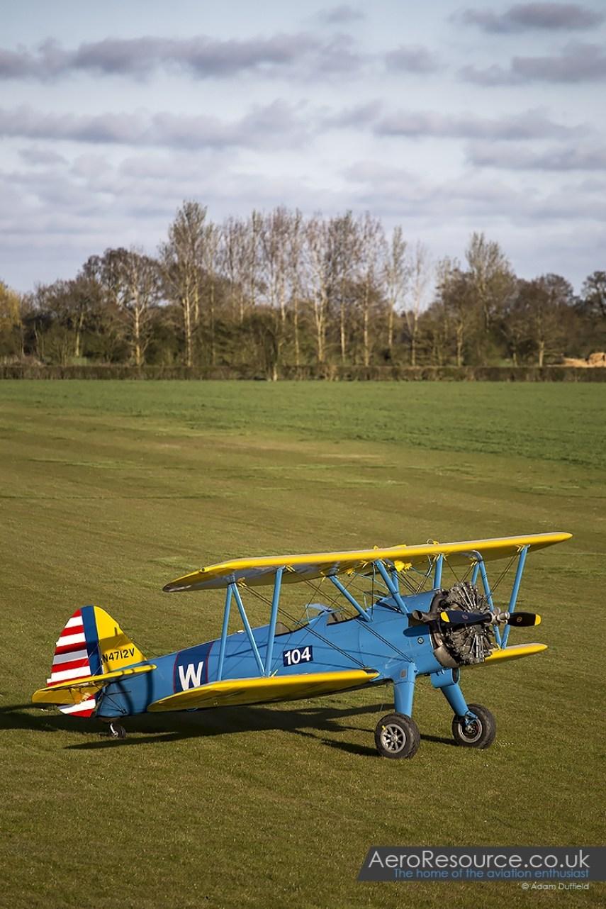 © Adam Duffield • Boeing Stearman • Hardwick Warbirds Photography Event