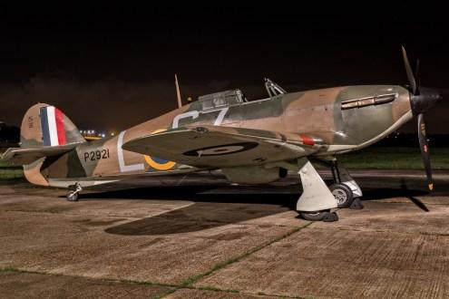 © Paul Smith • Hurricane MkI AE977 • Biggin Hill Heritage Hangar Nightshoot