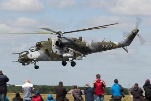 © Duncan Monk • Czech Air Force Mi-24 • NATO Tiger Meet 2014