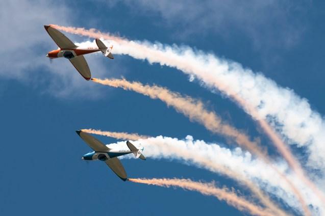 © Duncan Monk • Twister Duo • Throckmorton Air Show