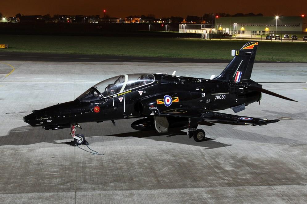 © Mark Kwiatkowski • BAE Hawk T2 ZK030 • Northolt Nightshoot XVII