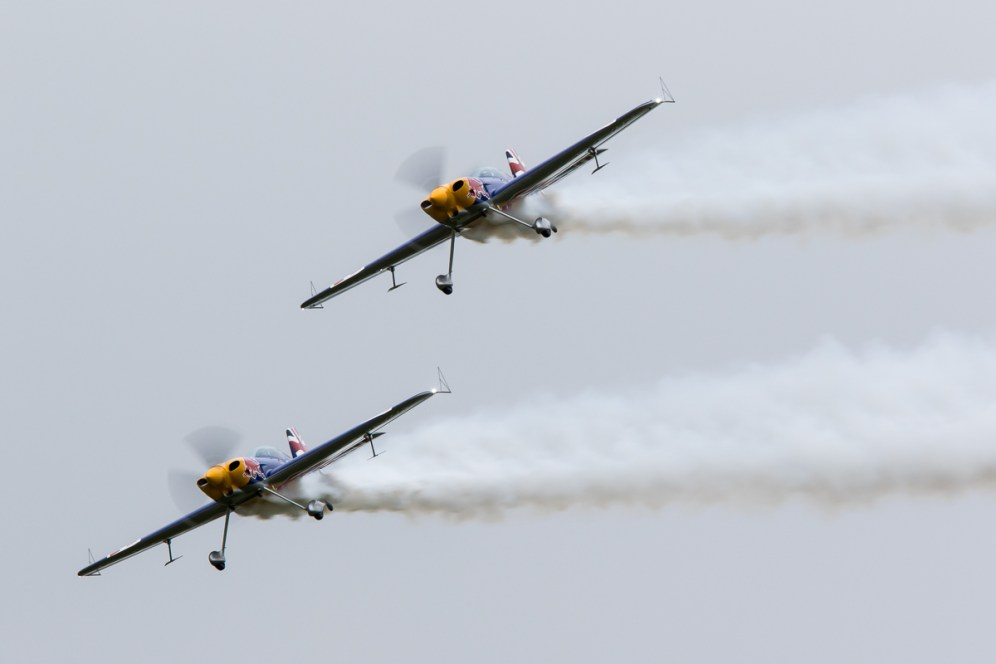 © Adam Duffield • Red Bull Matadors • Duxford VE Day 70th Anniversary Airshow